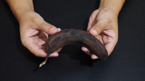 发黑的香蕉不要扔,留在家里特别值钱,爱美的女生都要抢着用
