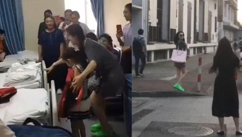 范冰冰现身医院探望患病儿童,却被路人偶遇在大街上摆拍