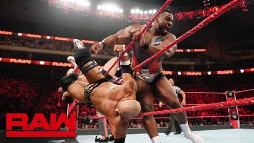 RAW1369期: 兰迪奥顿连发RKO阻截新希望折磨科菲