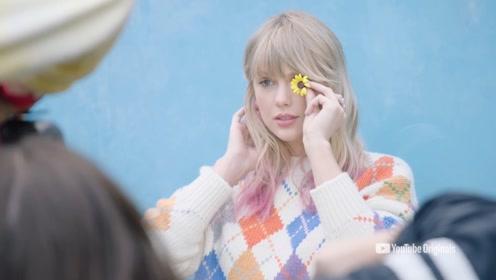 霉霉Taylor Swift新专辑《Lover》写真花絮释出