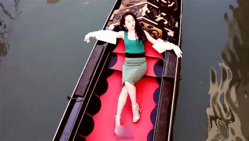蒋梦婕穿黄色紧身背心短裙大秀身材 皮肤水嫩白皙长腿逆天