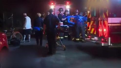 现场!美国北加州发生轻轨列车脱轨事件 致至少27人受伤