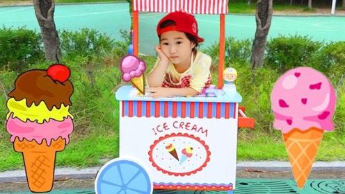 萝莉的冰淇淋店非常火爆,哥哥们都喜欢她做的冰淇淋,争相抢购!
