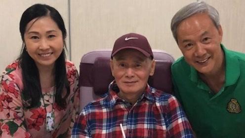 刘家辉64岁生日欧阳震华等祝寿 摆可爱表情包变老顽童