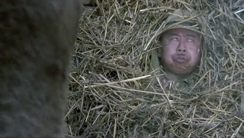 鬼子进村被反打,藏驴圈里被放屁带踢的欺负,潘长江演技实在到位