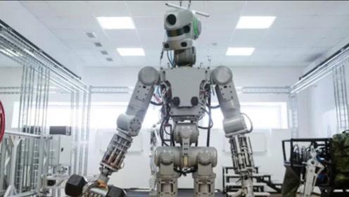 """硬核!俄罗斯首位机器人宇航员SkybotF-850""""闯""""太空"""