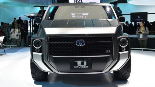 外观酷似装甲车 丰田Tj Cruiser概念车或将量产