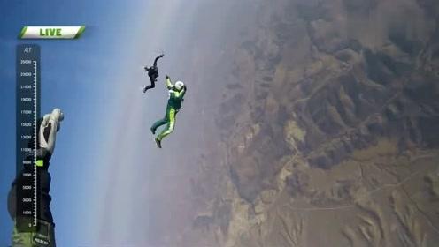 神操作!他不带伞从7620米高空跳下并成功着陆