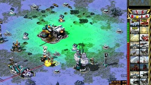《红色警戒》一轮超级武器与黑鹰战机的绝杀配合!