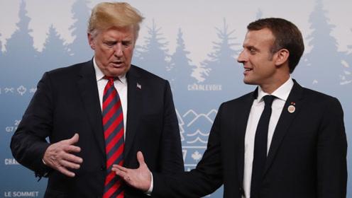 马克龙宣布G7拨款1.5亿协助巴西灭火 特朗普并没答应