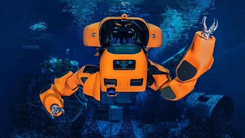 老外发明半人形水下潜艇,续航200公里,可执行高难度海底工作