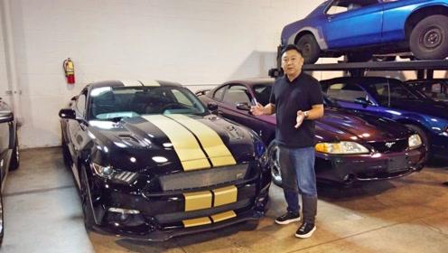 探访神秘车库,私人收藏几十台经典Mustang每一台都有故事