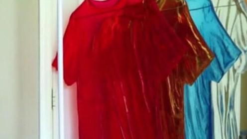 设计师发明的透明衣服,当穿着上街、回头率不要太高哦