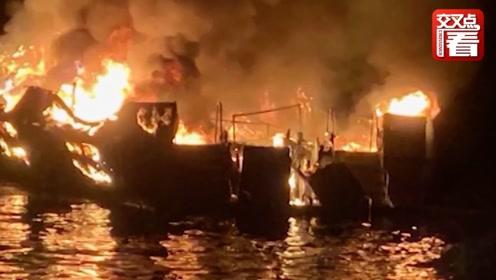 """惨!美国加州着火游船乘客求救录音曝光:""""我不能呼吸了…"""""""