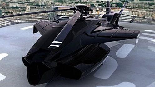 5架疯狂的军用直升机,打开了新世界的大门!