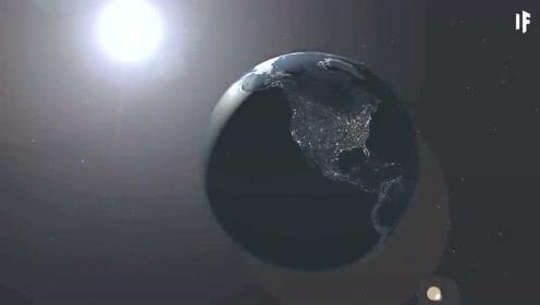 如果地球反方向旋转,会发生什么?地球的景观会是这样的!
