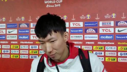 中国男篮只有1%的几率进奥运会,周琦:都怪我,打的菜不求原谅