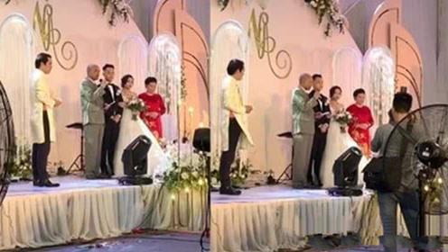 女儿出嫁老爸婚礼上送豪礼:20亿现金和200平米的豪宅