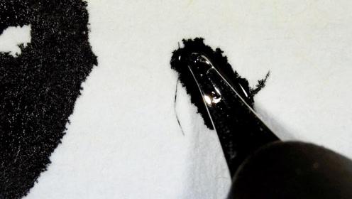 钢笔放在显微镜下,看完出墨过程,心服口服