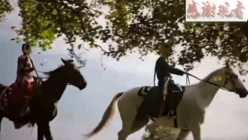 如懿传皇上带炩妃骑马,两人红尘作伴