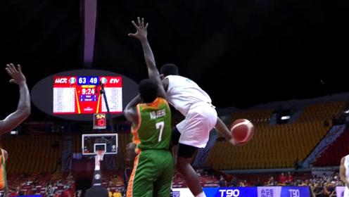 篮球世界杯十大助攻 戴克空中背传坎帕佐声东击西