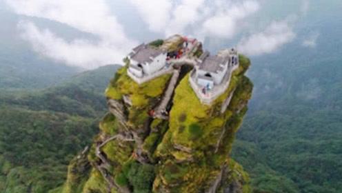 """中国现实版""""天空之城"""",建于万丈悬崖上,稍不注意就粉身碎骨!"""