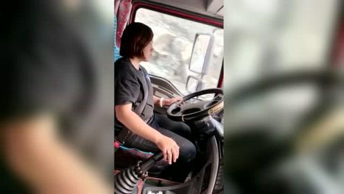 这一路颠颠簸簸女司机太难开了