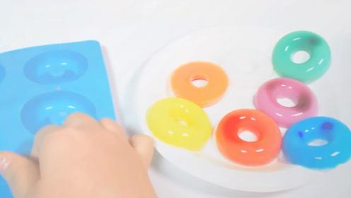 """想吃果冻不用买,一分钟学会""""甜甜圈""""果冻,套在手指上吃超过瘾"""