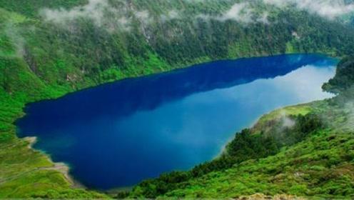 """四川最有""""灵性""""的神湖,鱼能听懂人说话,大声一喊就疯狂游过来"""