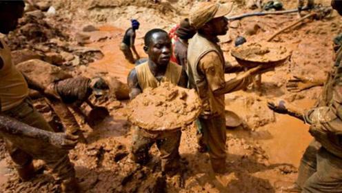 非洲穷的只剩黄金的国际,2000多座金矿,当地人却只能吃白菜