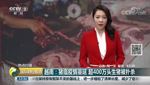 越南非洲猪瘟蔓延,病情无法得以控制,被捕杀生猪已超过400万头