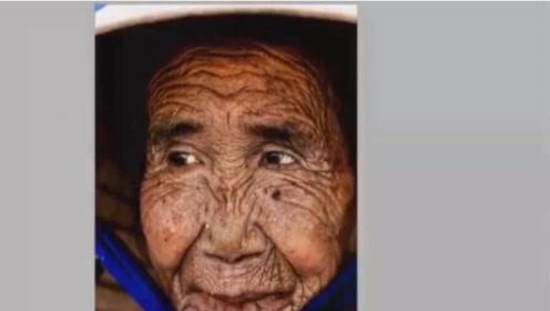 80岁老奶奶年轻时曾经是村花!PS大神还原18岁模样!