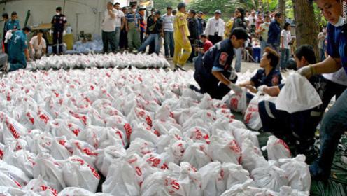 泰国寺庙突发恶臭味,发现藏2000多白袋子,打开全是婴儿尸体