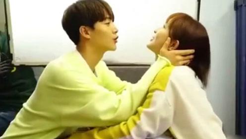 莫格利凌熙吻戏 杨紫和马天宇接吻 导演喊卡后互相嫌弃