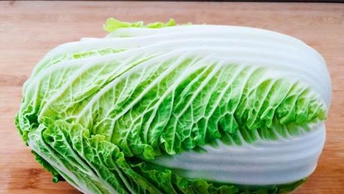 白菜这样做真好吃,不炒不炖不包馅,锅里一滚,赛过大鱼大肉真香