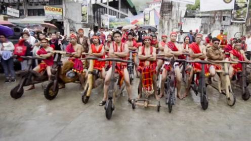 菲律宾最时尚的交通工具,不耗油不费电,唯独上坡时有点费劲!