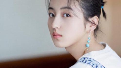 张子枫瘦身成功出席活动颜值高,网友:美出了新高度