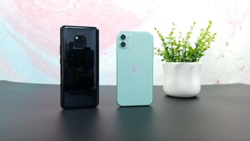 华为Mate20P对比iPhone11,怎么选很明显了!