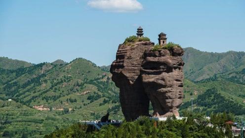 """中国最神秘""""古塔"""",耸立在垂直绝壁上,建造方式让世界起疑!"""