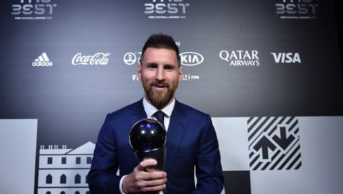 梅西压范迪克、C罗当选2019世界足球先生 第6次获奖创历史