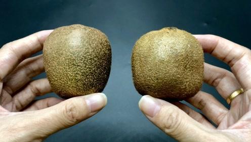 猕猴桃甜不甜,瞅一眼这里就明白!一挑一个准,果农方法太实用了