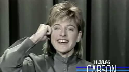 艾伦Ellen早期脱口秀现场