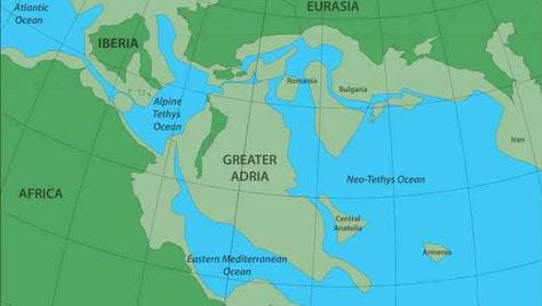 1.4亿年前消失的大陆被发现:埋在南欧底下、格陵兰岛大小