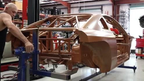 10分钟 记录了一台1000匹职业漂移赛车的改装全过程