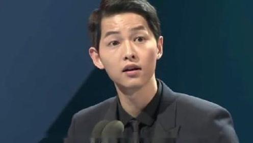 宋仲基上节目看到宋慧乔,谁注意到他的表情?网友:早有预感