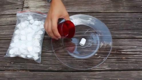 世界上最牛的压缩毛巾,只有糖果大小,遇水迅速发生膨胀!