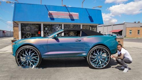 私人定制的雪佛兰到货了,汽车变形瞬间,终于明白什么是奢侈!