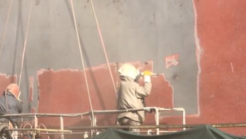 为何轮船底清洗费一次就要10多万?视频记录全过程,原来是这样