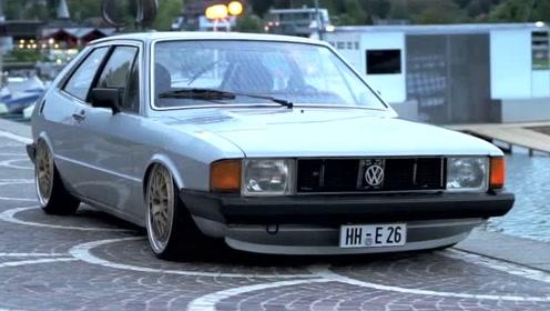 大众经典老车三门溜背VW SCIROCCO MK1