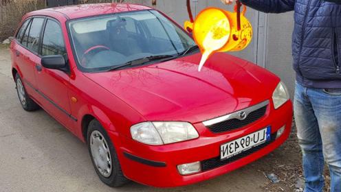 把1000度的岩浆,倒在汽车上会怎么样?网友:看的时候离远点